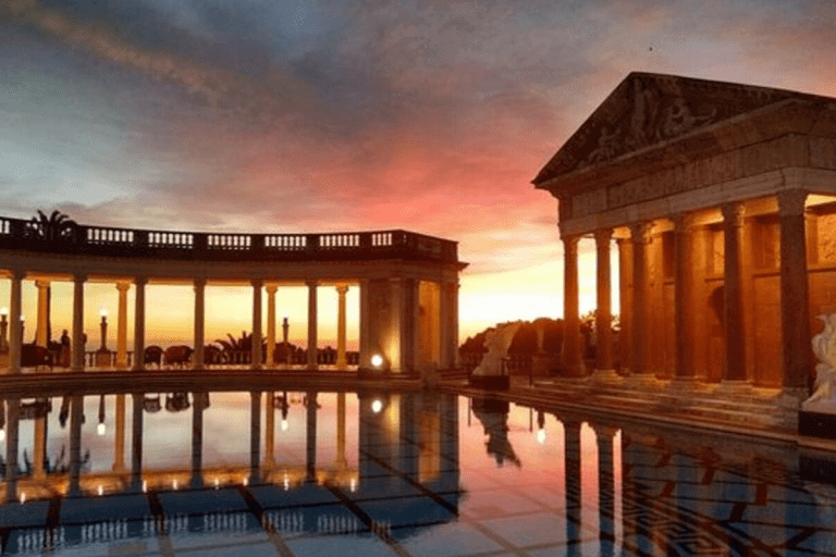 Neptune's Pool at Sunset at Hearst Castle