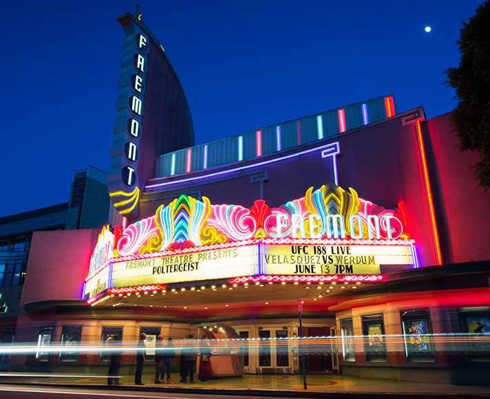 Catch a film at the Fremont Theater in San Luis Obispo