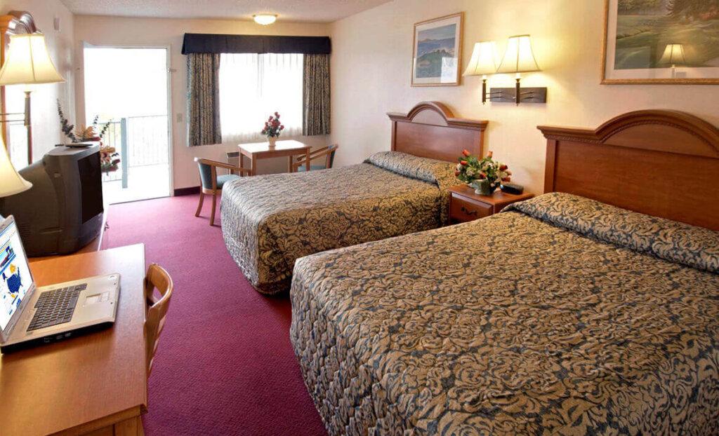 Double bedroom at America's Best Value Inn