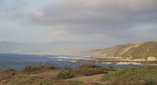 Beautiful California coastline near San Luis Obispo