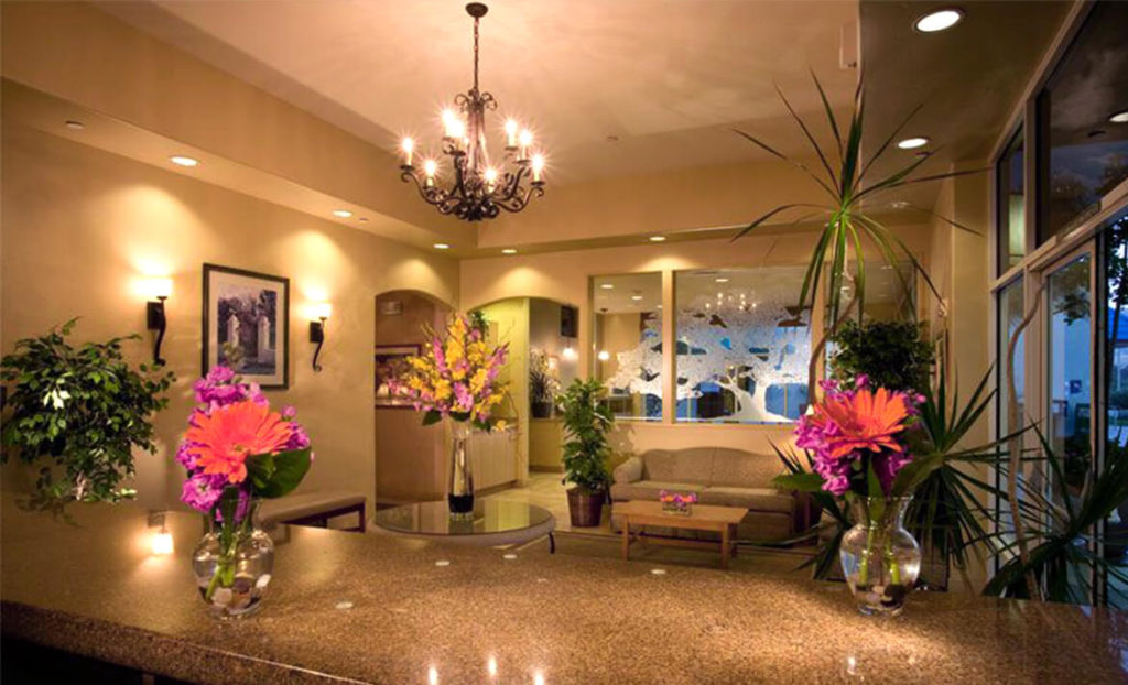 Hotel Lobby at Best Western Royal Oak