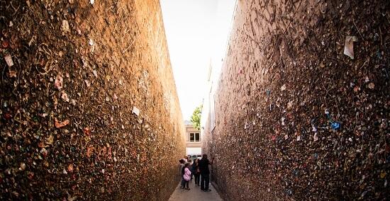 Bubblegum Alley in San Luis Obispo