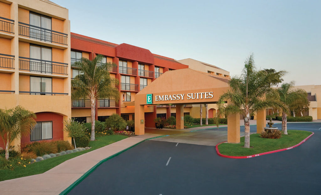 Entrance of Embassy Suites by Hilton San Luis Obispo