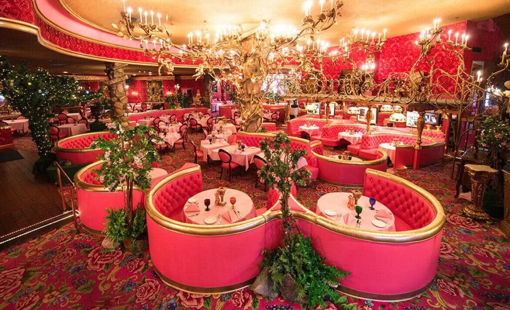Fine dining at Madonna Inn