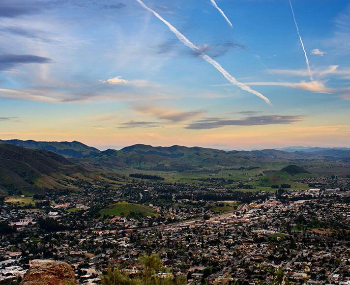 San Luis Obispo Skyline