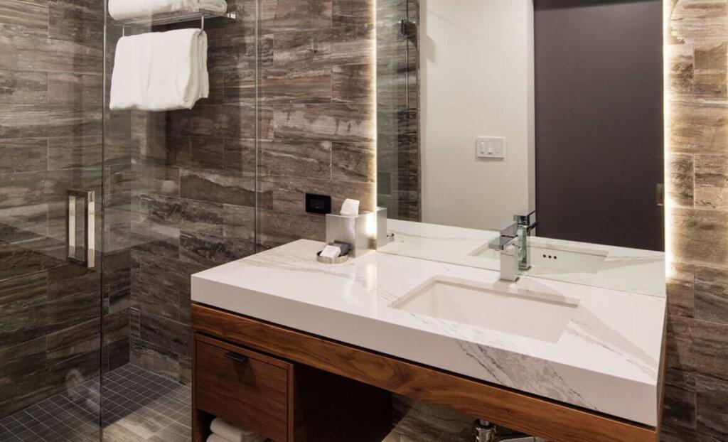 Bathroom in the Butler Hotel