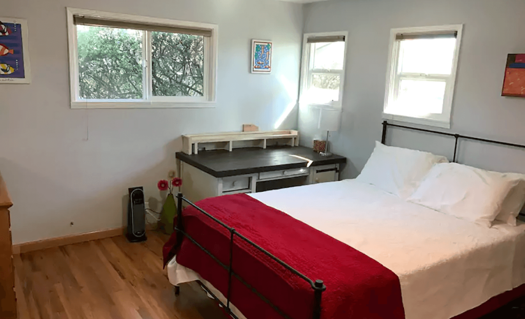 Bedroom of The Good Place