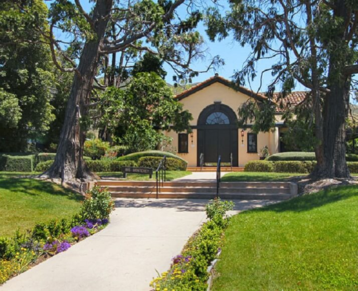 The outisde of the Monday Club in San Luis Obispo, California