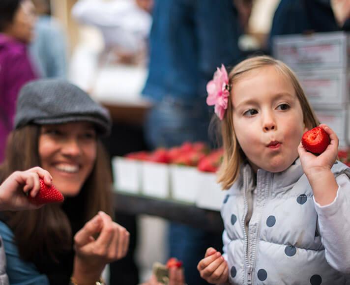 San Luis Obispo vacation ideas with kids, like Downtown SLO Farmers' Market