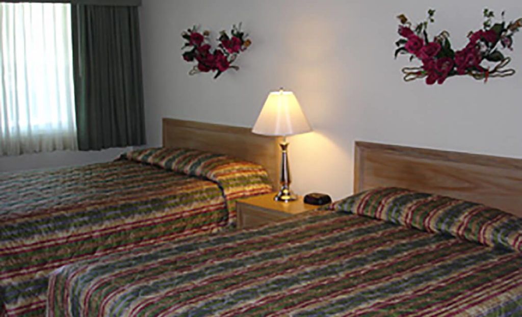 Double room at Villa Motel