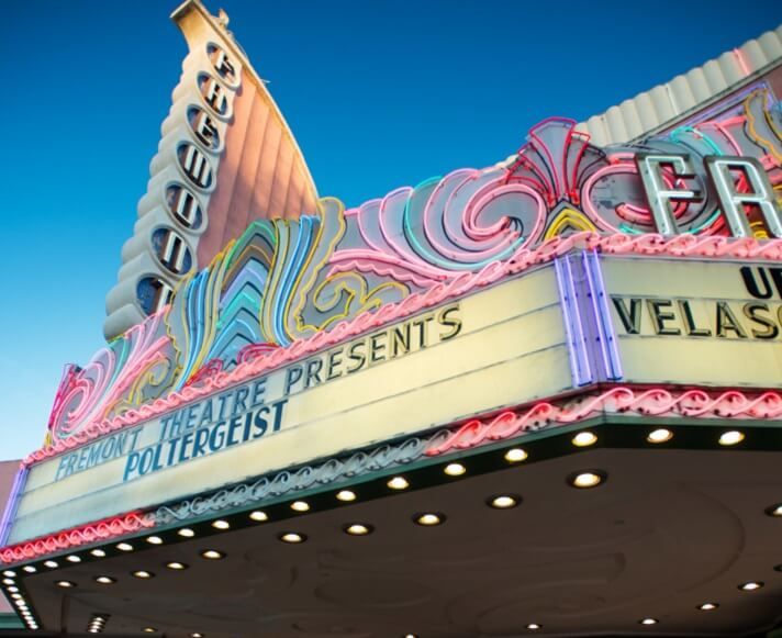 Historic Fremont Theater in Downtown San Luis Obispo