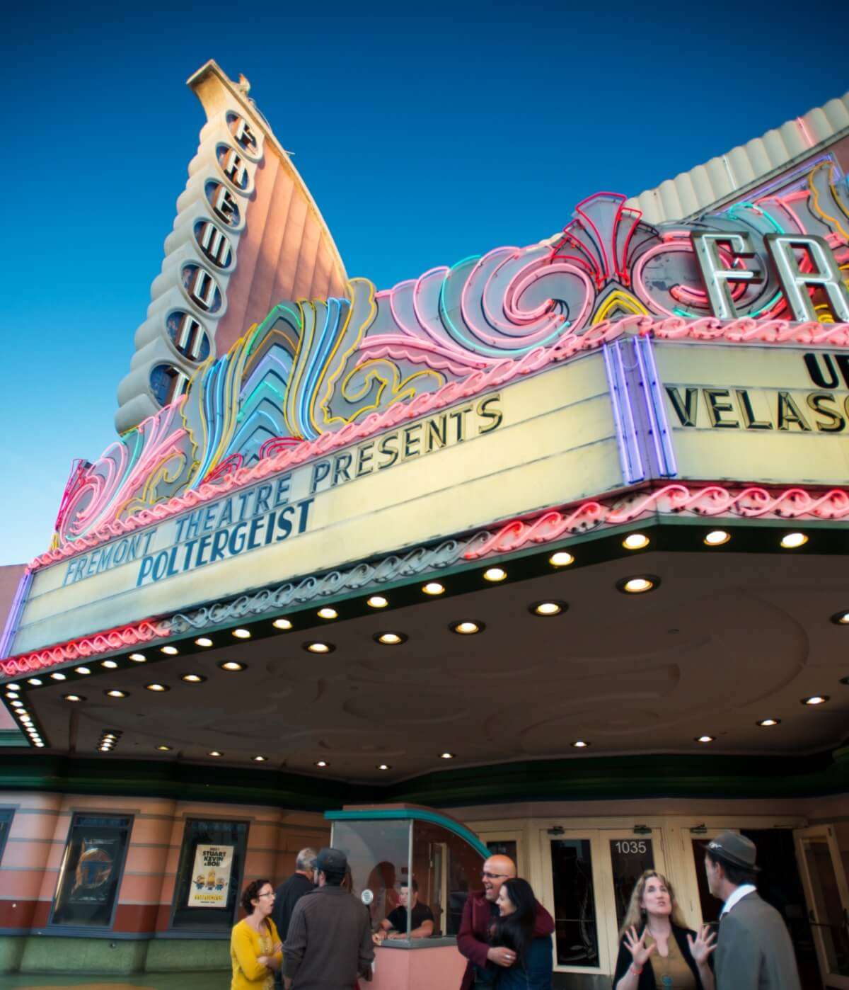 The historic Fremont Theater in San Luis Obispo, California