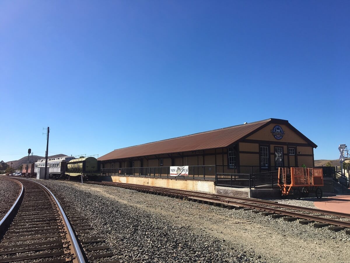SLO Railroad Museum Building, a historic site in San Luis Obispo