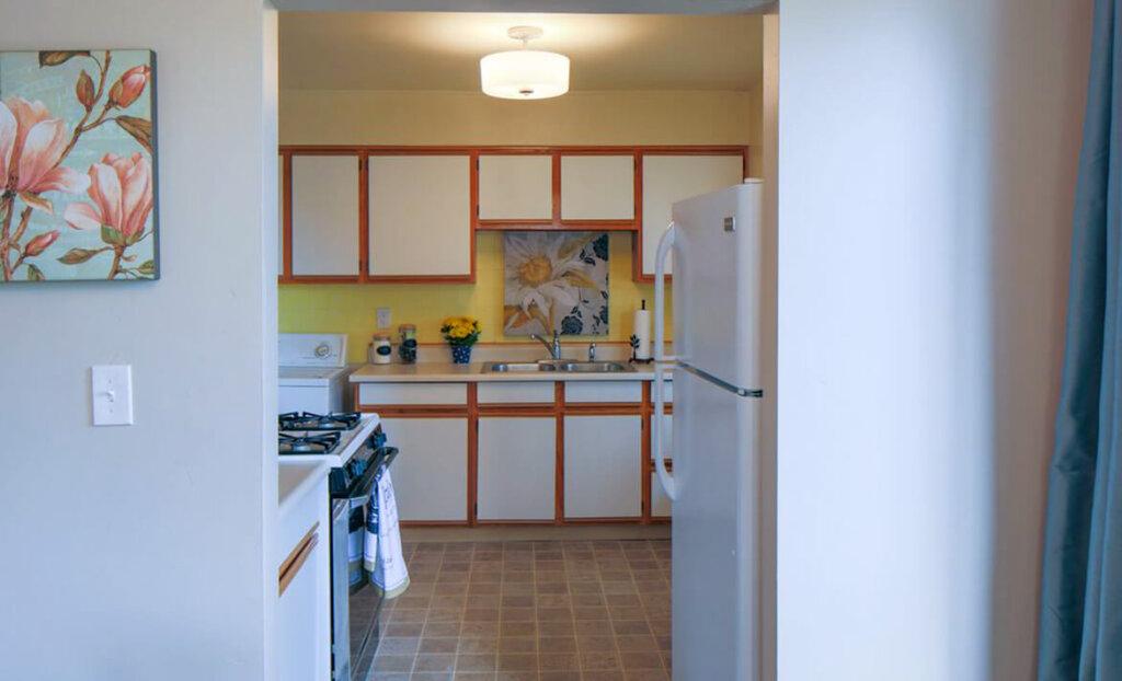 Kitchen of Susie Brans rental