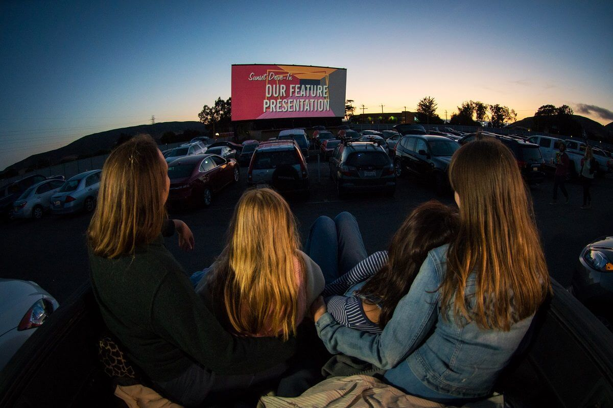 The Sunset Drive-In Movie Theater in SLO