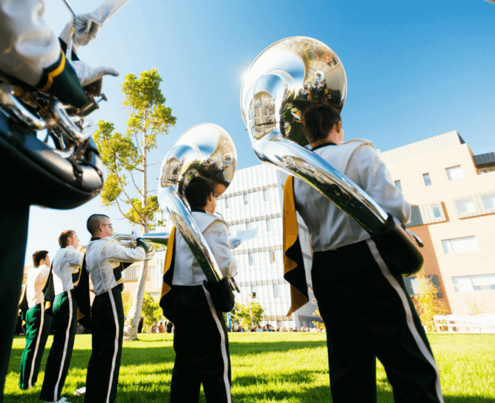 Cal Poly Marching Band