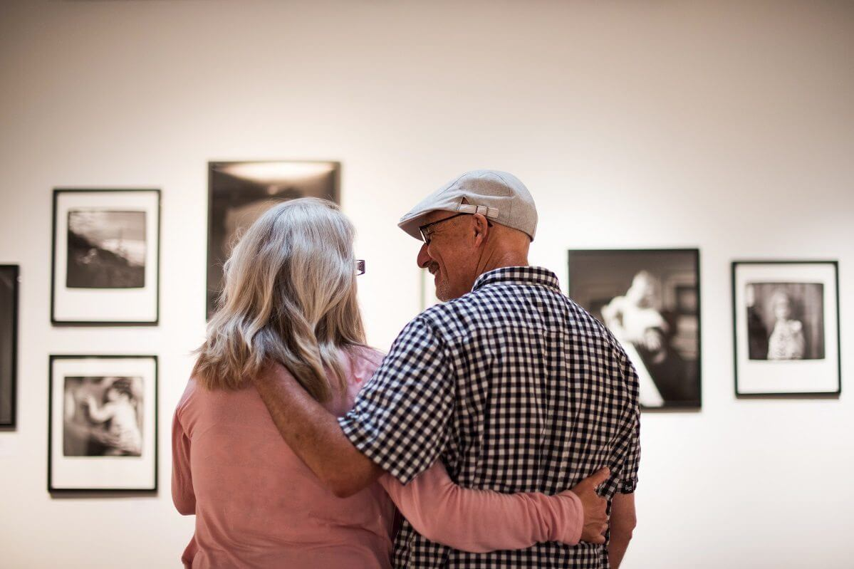 Couple at the SLO Museum of Art