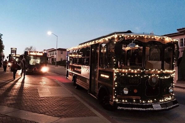 Old San Luis Obispo Downtown Trolley