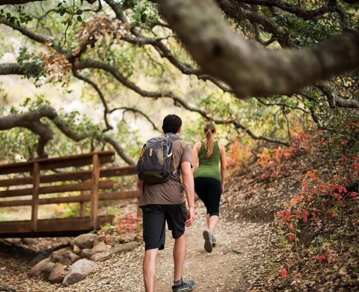 Couple hiking in SLO