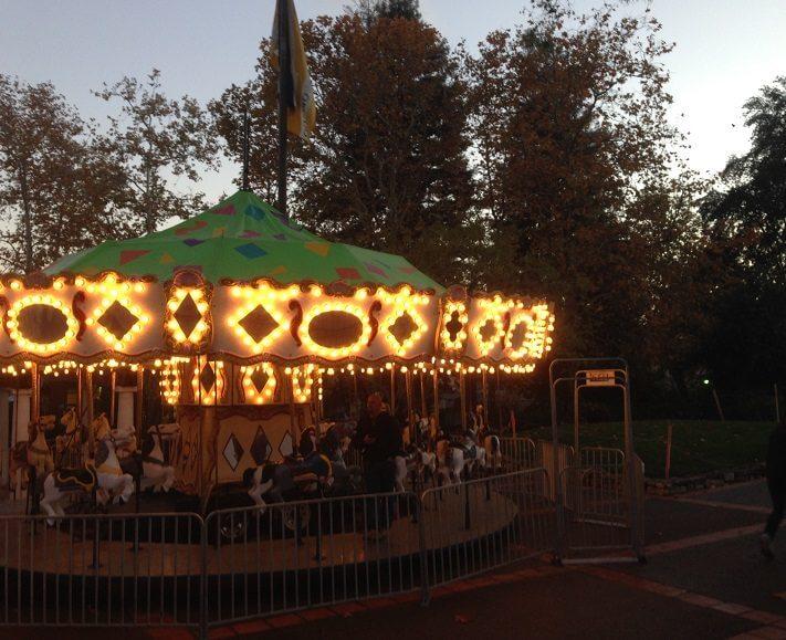 Carousel in downtown San Luis Obispo
