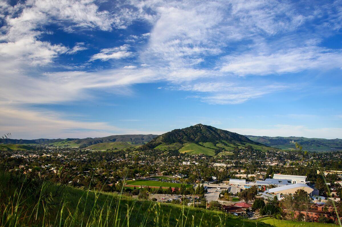 View Overlooking San Luis Obispo