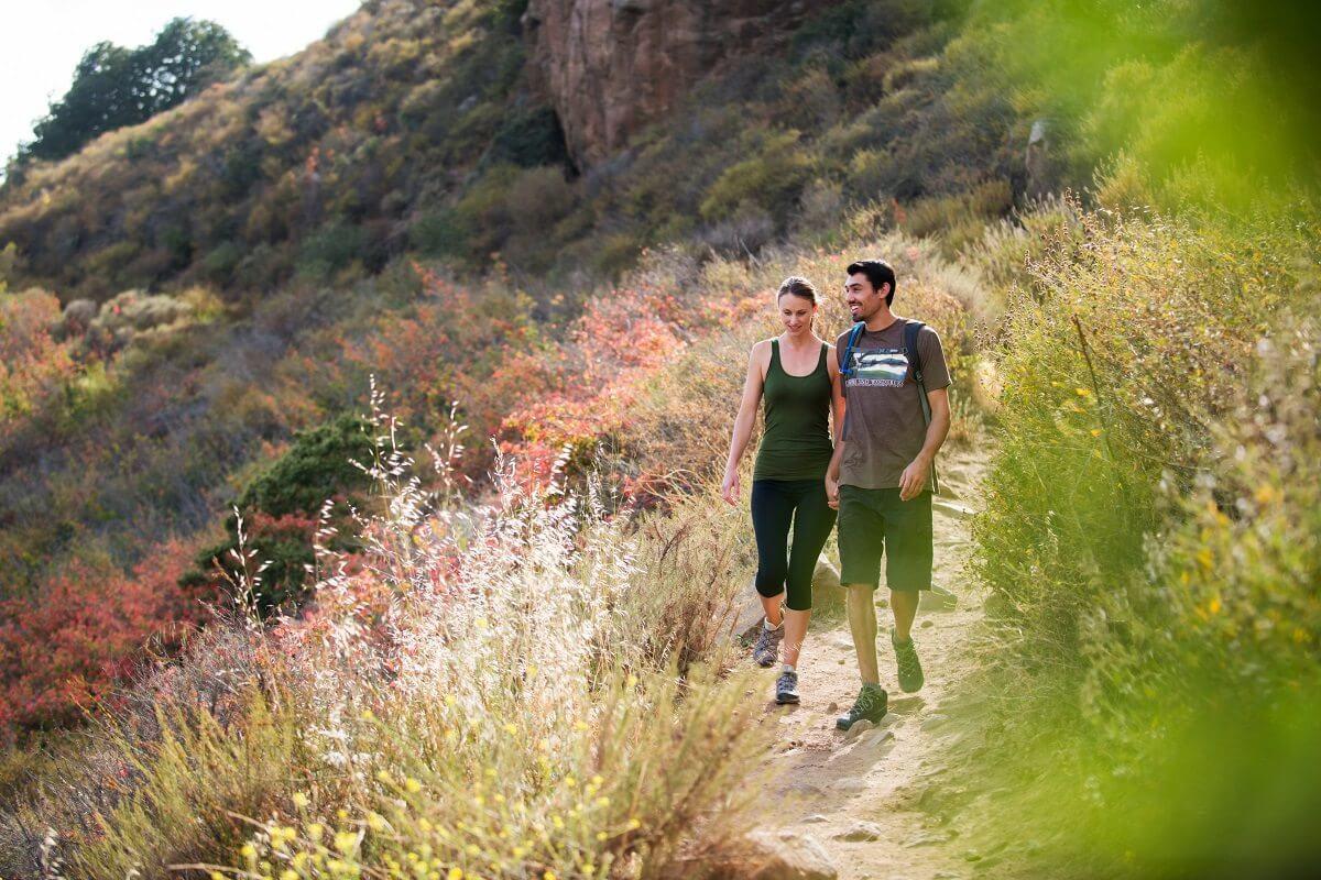 Couple Hiking on Cerro San Luis