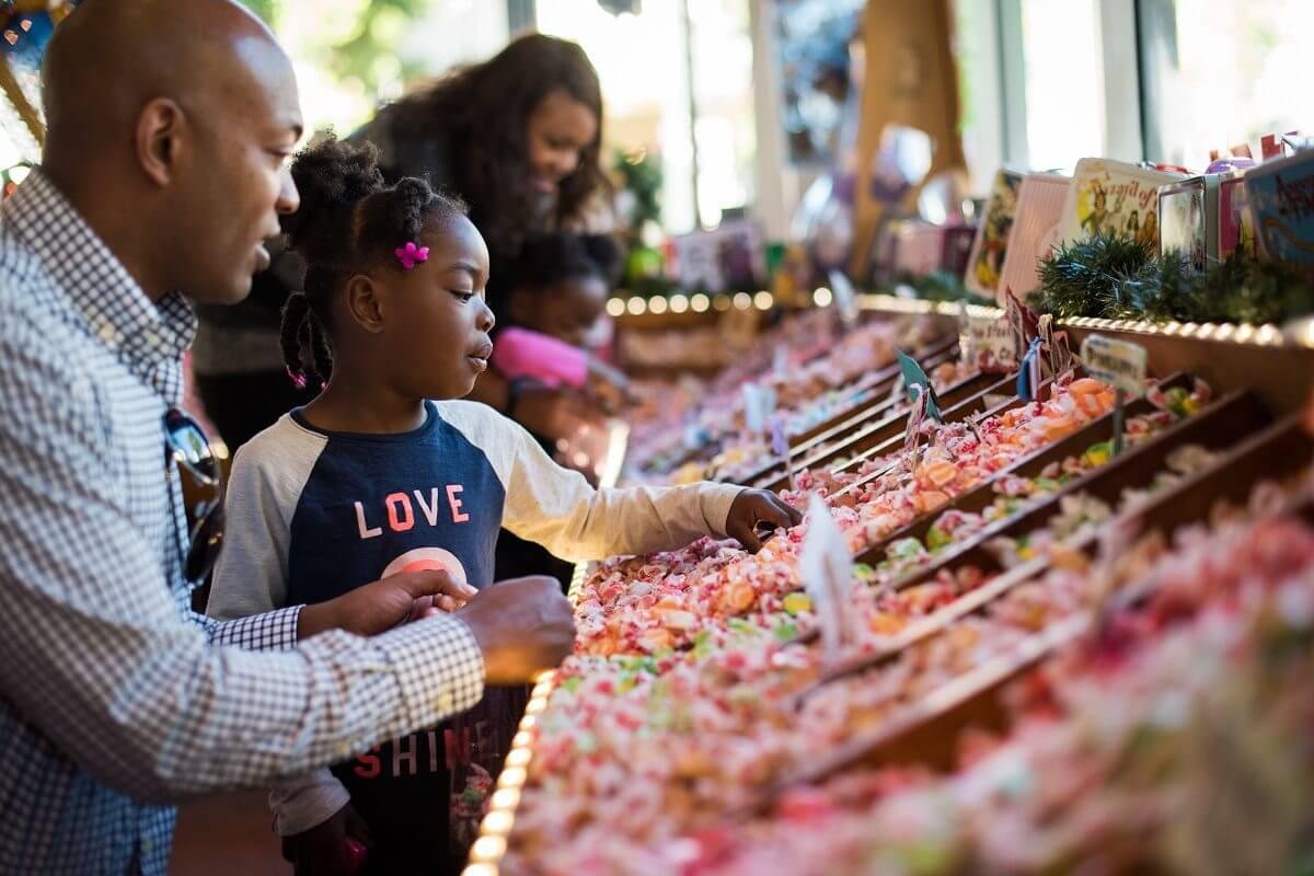 Rocket Fizz Candy Shop in SLO