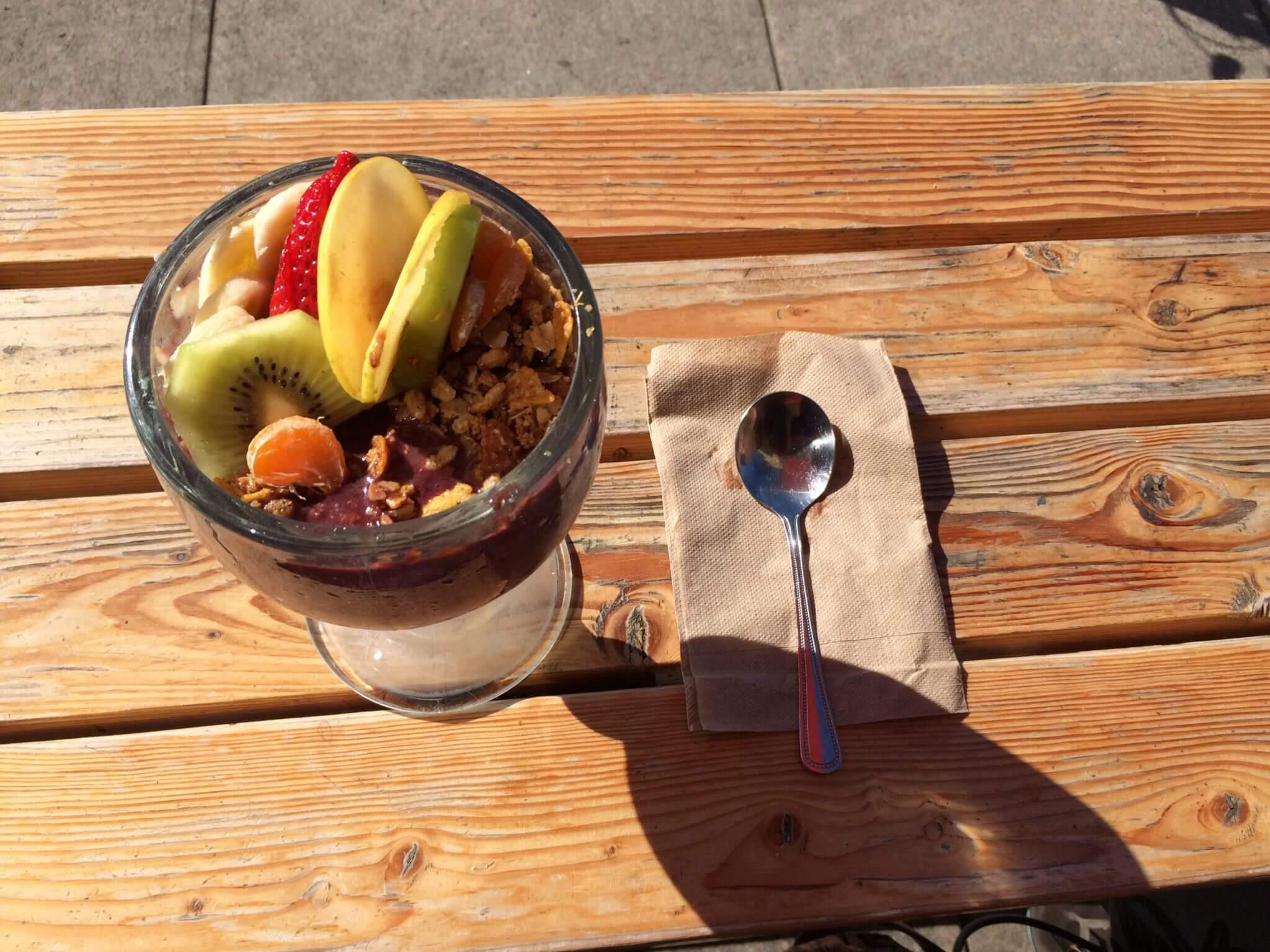 Taste Brunch Yogurt and Granola