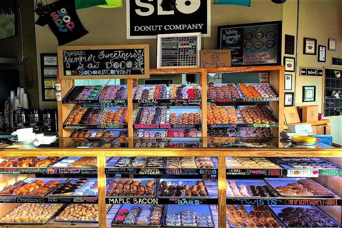 SLO Donut Company Storefront in San Luis Obispo