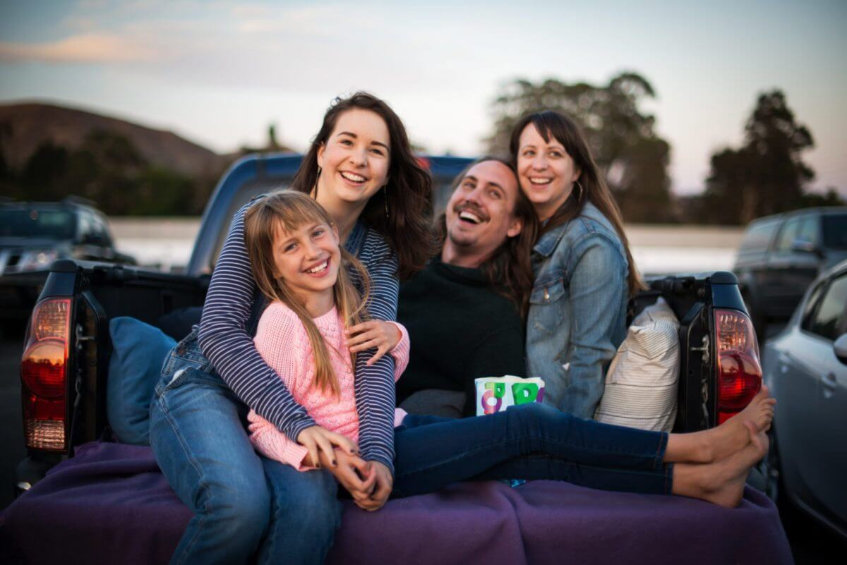 San Luis Obispo Sunset Drive in Family