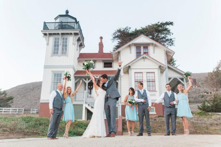 SLO Light House Wedding