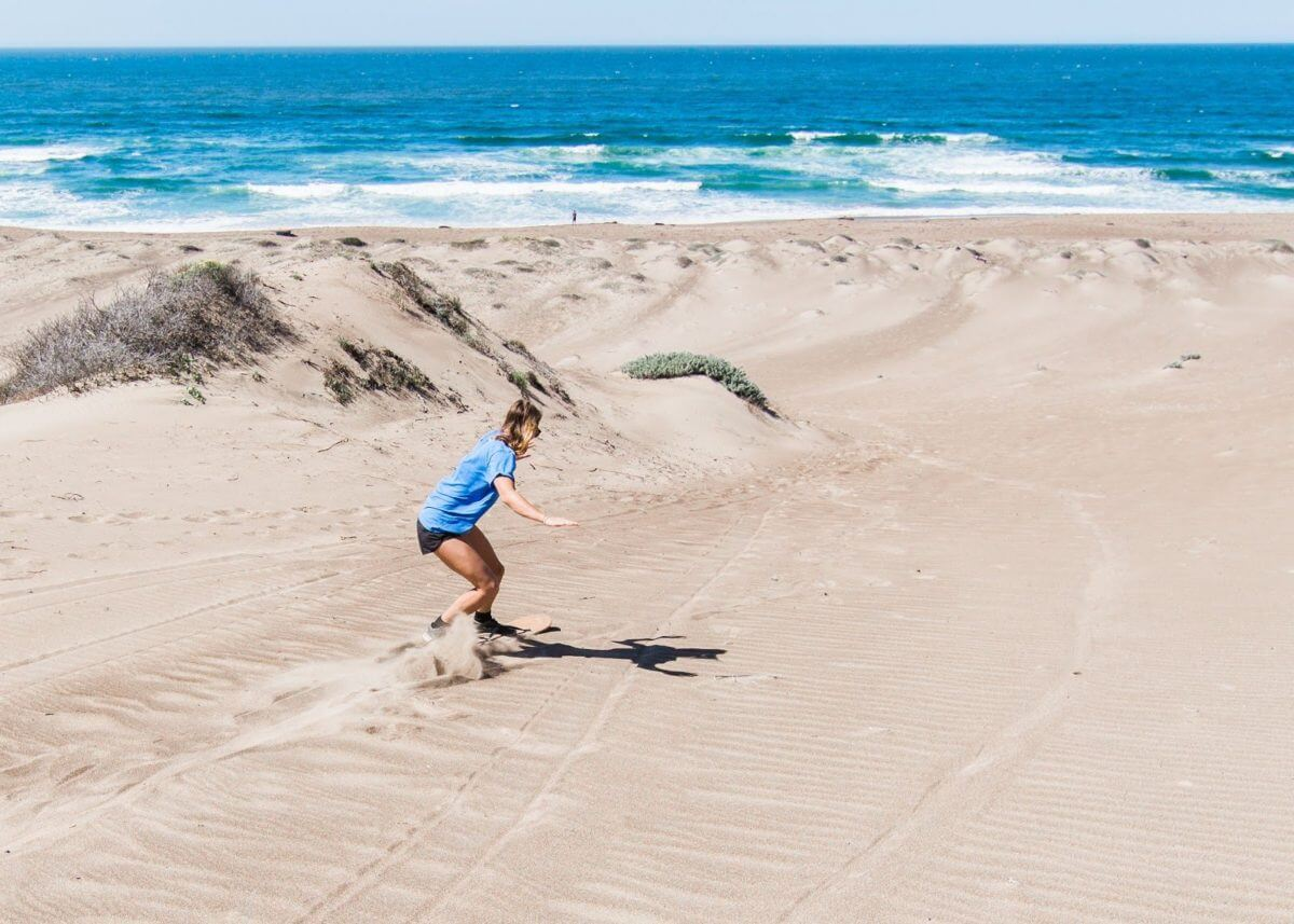 Sandboarding with Jack Smith at Montana De Oro Dunes