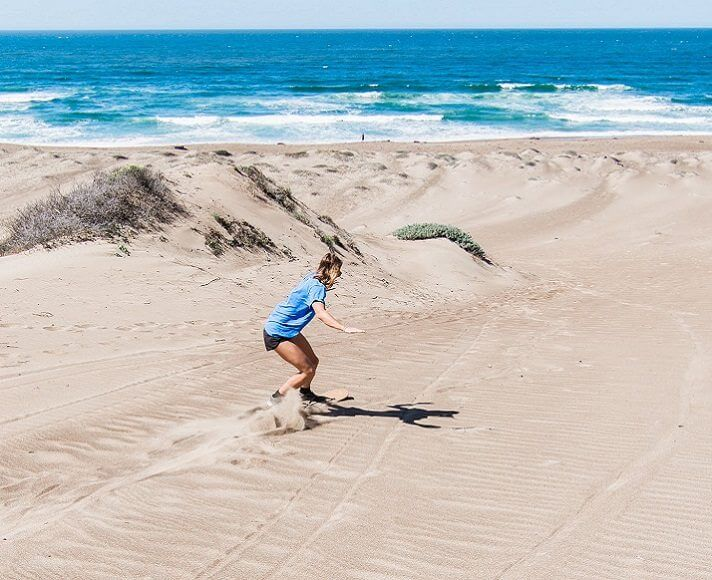 Featured Sandboard Image for SLO County's Top 5 Adventures