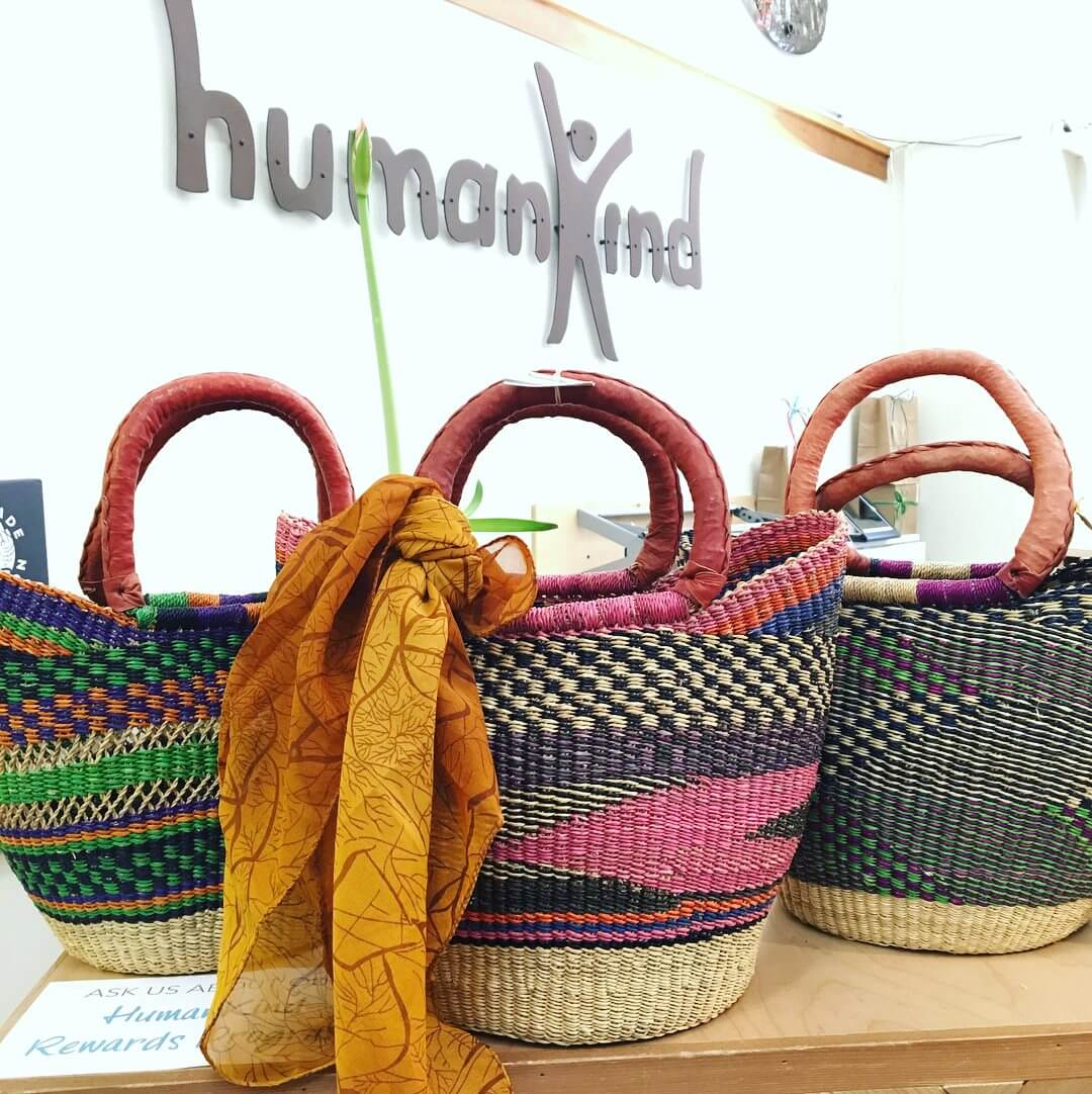 Sustainable Travel Bags from HumanKind Fair Trade in SLO
