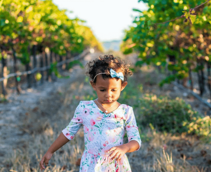 Barefoot in Tolosa Winery Vineyard Featured Image