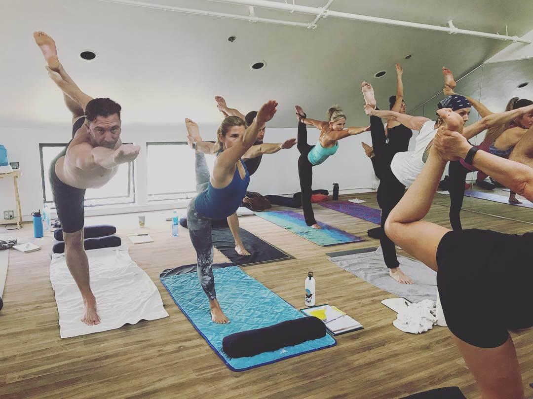 Bikram Yoga Class in SLO