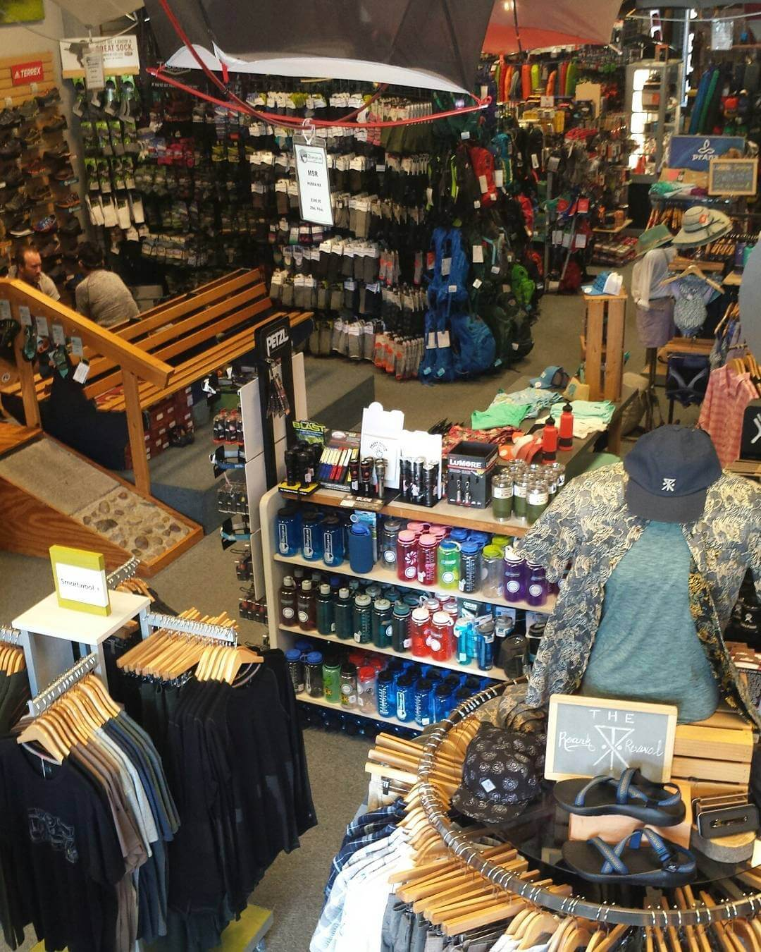 Shopping at The Mountain Air Clothing Store in SLO