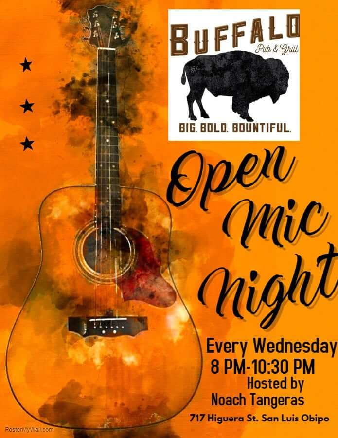 Buffalo Pub and Grill Open Mic Night