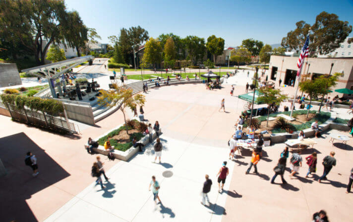 Cal Poly campus tours in San Luis Obispo.