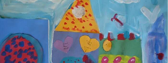 Youth After School Art Classes for 5-6 year olds: Shapes, Houses, and Community