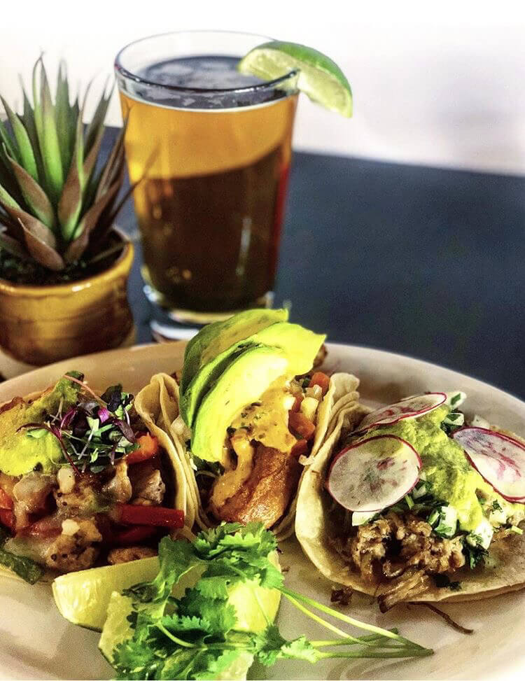 Tacos and Beer from The Mark SLO