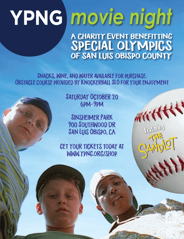 Young Professional Networking Group Movie Night: The Sandlot