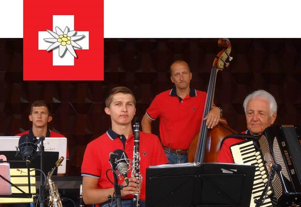 Scheiber Swiss Folklore Band members
