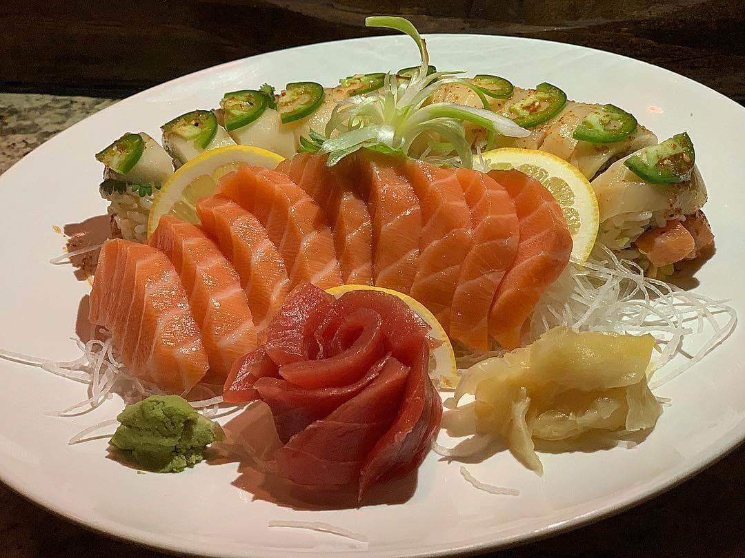 Sashimi and Special Sushi Roll Combo from Kumi Ko in San Luis Obispo