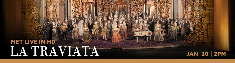 MET Live in HD: La Traviata event banner