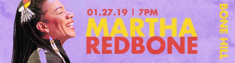 Martha Redbone - Bone Hill: The Concert event banner