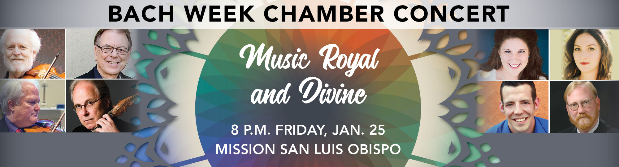 Bach Week Chamber Concert: Music Royal and Divine event banner