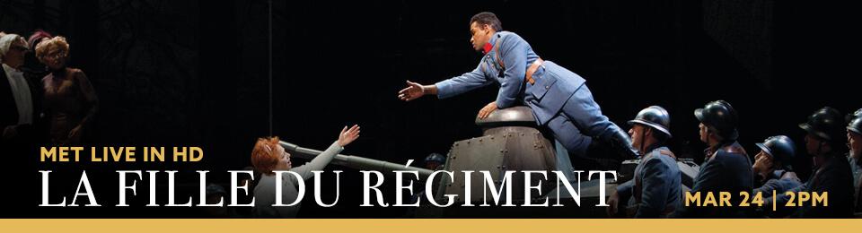 MET Live in HD: La Fille du Regiment Event Flyer