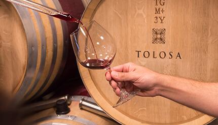 Tolosa Barrel Tasting San Luis Obispo