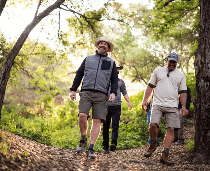 Group of hikers in San Luis Obispo